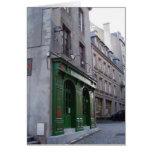 Pub irlandés en St. Malo, Francia Tarjeta De Felicitación