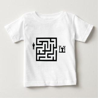 pub labyrinth icon baby T-Shirt