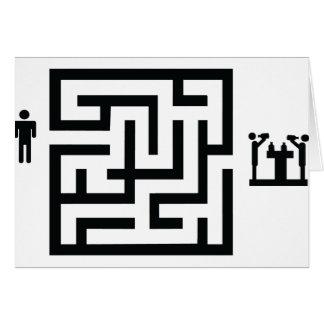 pub labyrinth icon card