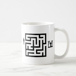 pub labyrinth icon coffee mug