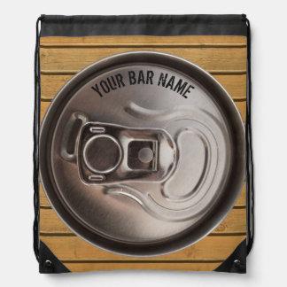 Pub Or Bar Owner Beer Can Backpack