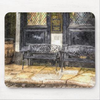 Pub Resting Place Art Mouse Pad