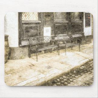 Pub Resting Place Vintage Mouse Pad