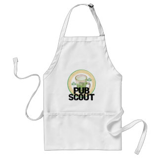 Pub Scout St. Patrick's Day Tshirts and Gifts Adult Apron