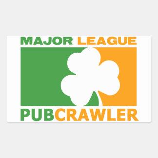 Pubcrawler! Rectangular Sticker