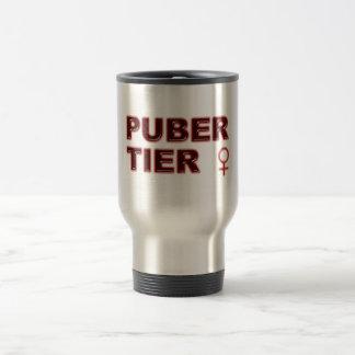 Pubertier womanlike 15 oz stainless steel travel mug