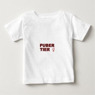 Pubertier womanlike infant t-shirt