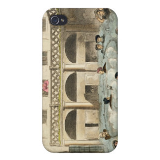 Public Bathing at Bath, or Stewing Alive, print pu Case For iPhone 4