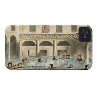 Public Bathing at Bath, or Stewing Alive, print pu iPhone 4 Case