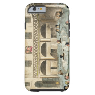 Public Bathing at Bath, or Stewing Alive, pu Tough iPhone 6 Case