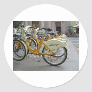 Public Bicycles Classic Round Sticker