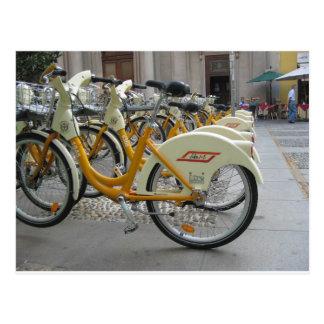 Public Bicycles Postcard