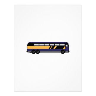 Public Bus Letterhead Design
