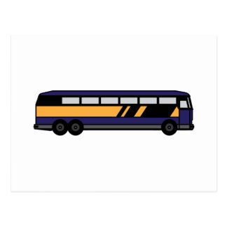 Public Bus Postcard