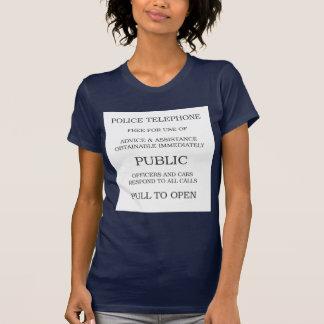 Public Call Box sign T-Shirt