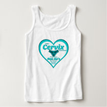 Public Cervix Announcement -sm/lrg cell cancer Tank Top