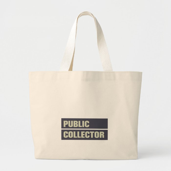 Public Collector Large Tote Bag