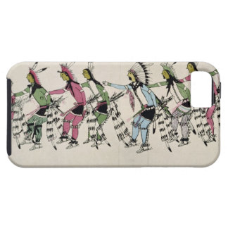 Public dance in honour of the warrior He Dog (ink iPhone SE/5/5s Case