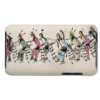 Public dance in honour of the warrior He Dog (ink iPod Case-Mate Case