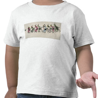 Public dance in honour of the warrior He Dog (ink Shirt