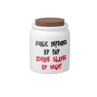 Public Defender Zombie Slayer Candy Jars
