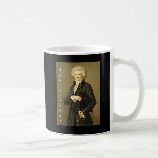 Public domain 2 de Labille-Guiard_Robespierre con  Taza Básica Blanca