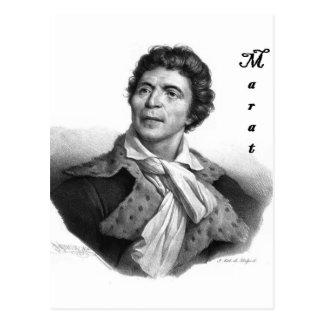 Public domain Jean-paul_marat_1 con el blackadder Tarjeta Postal