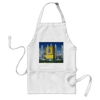 Public fountain in Azores islands Adult Apron