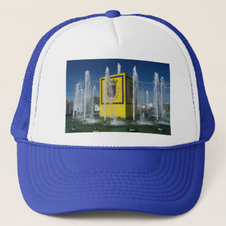 Public fountain in Azores islands Trucker Hat