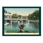 Public Garden, Boston 1905 Vintage Post Card