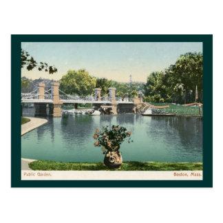 Public Garden, Boston 1905 Vintage Postcard