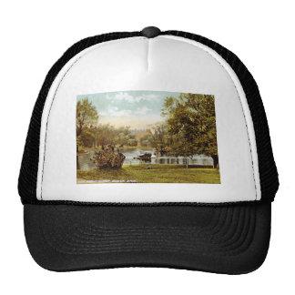 Public Garden, Boston 1909 Vintage Trucker Hat