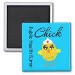 Public Health Nurse Chick v1 Fridge Magnets