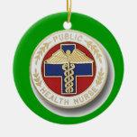 Public Health Nurse Ornaments
