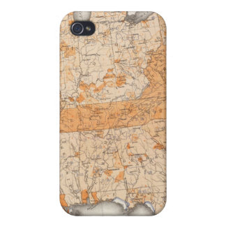 Public Indebtedness, Statistical US Lithograph iPhone 4/4S Cases