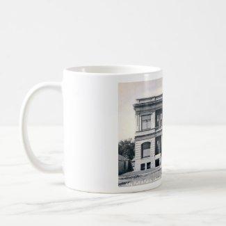 Public Library, Appleton, Wisconsin, c1905 Vintage mug