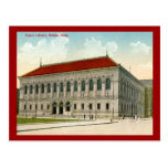 Public Library, Boston 1911 Vintage Post Cards