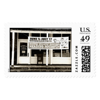 Public Library-Morrison Tennessee Stamps