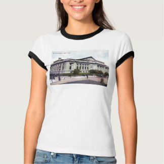 Public Library, New York City 1915 Vintage T-Shirt