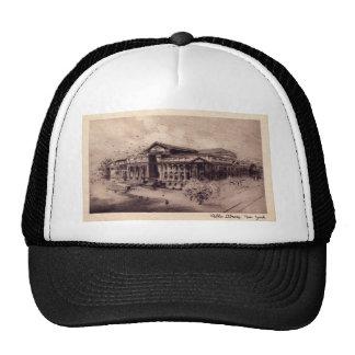 Public Library, New York City Vintage Trucker Hat