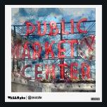 "Public Market Center in Seattle Washington Wall Sticker<br><div class=""desc"">Public Market Center in Seattle Washington</div>"
