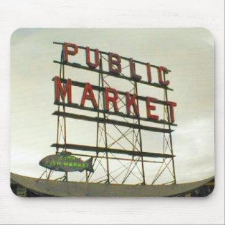 Public Market in Seattle, WA Mouse Pad