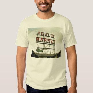Public Market in Seattle, WA T Shirt
