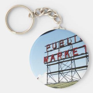 Public Market Key Chains