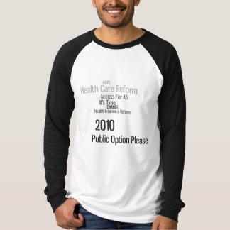 Public Option for 2010 T-Shirt
