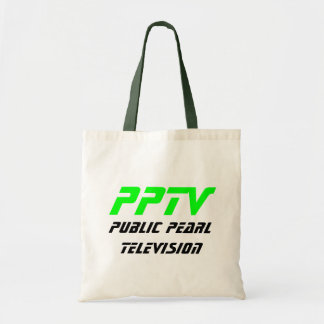 Public Pearl Television Tote Bag
