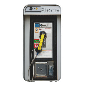 Public Phone 2 Barely There iPhone 6 Case