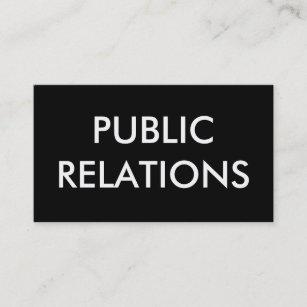 Public relations business cards zazzle public relations business card colourmoves