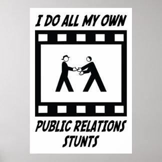 Public Relations Stunts Poster