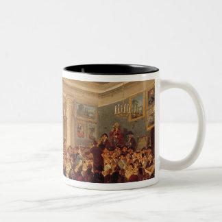 Public Sale at the Hotel Bullion Two-Tone Coffee Mug